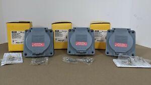 HUBBELL  HBL2730SW 30 AMP WATERTIGHT TWIST-LOCK RECEPTACLE 480 VAC 3 POLE