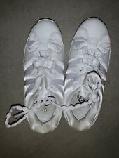 Chasse Cheerleading Shoes Girls Size 2 White Tennis Shoes