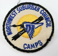 Vintage Northwest Suburban Council Camps Boy Scouts of America Camp Patch