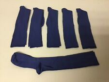 NWOT Nurse Mates Suppsocks Compression Coolmax Socks Medium 6 Pair Blue #652L