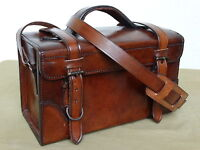 Ledertasche Lederkoffer Vintage Tasche Arztkoffer Umhängetasche Heritage Nose Ar