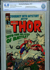 Thor Journey Into Mystery #117 Marvel Comics CBCS 6.0 FN 1965