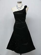 Cherlone Black Prom Ball Evening Bridesmaid Wedding Knee Length Dress Size 16-18