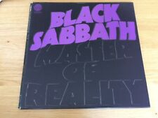 Black Sabbath Masters Of Reality NM First Press Vinyl Record with postee