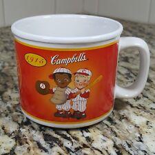 Campbells Kids Soup Mug 2004 100 Year Anniversary Baseball Retro Automobile