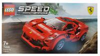 Lego Speed Champions Ferrari F8 Tributo Red Racing Race Sports Model Car 76895
