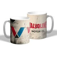 Valvoline Mug Vintage Oil Can Effect Car Mechanic Tea Coffee Mug Gift