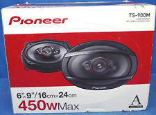 """NEW Pioneer TS-900M, 6"""" x 9"""" 4-way coaxial speakers, 450W max power"""