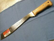 "13"" GOLOK MACHETE KNIFE TOOL MARTINDALE ENGLAND WOOD HANDLE #2 Blade New"