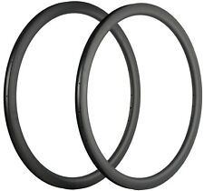 40mm Depth Carbon Rim 18/20/21/24/28/32 Hole Track/Road Bike Carbon Rims 700C