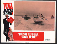 JAMES BOND FROM RUSSIA WITH LOVE 1970 VIVA BOND STYLE U.S. LOBBY CARD #8