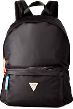 Guess Front Pocket With Triangle Log In Black