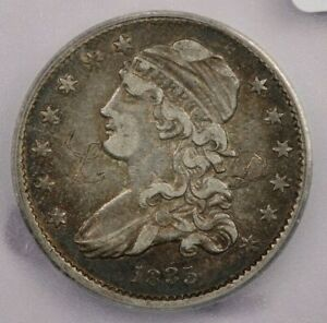 1835-P 1835 Capped Bust Quarter 25c ICG EF40 Details