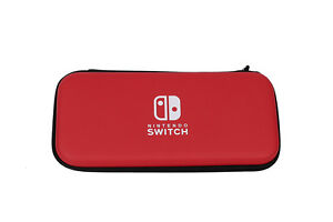 Red EVA Nintendo Switch Protective Case with Screen Protector