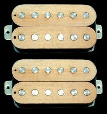 Guitar Pickups - GUITARHEADS LUMBERBUCKER HUMBUCKER Wood Top - SET 2 - MAPLE