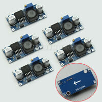 5x 1.23V-30V DC-DC Converter Step Down Adjustable Module LM2596 Power Supply Hot
