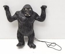"Vintage Monster Halloween KING KONG Rubber Figure Ben Cooper Jiggler 5"" w/String"