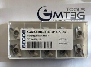 10x Seco XOMX 180608TR-M14-K 35 NEU