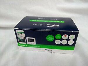 Drayton WV724R9K0902 Wiser Multi-Zone Smart Thermostat Kit 1 - White