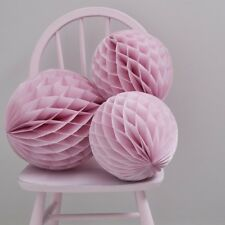PINK HONEYCOMB BALL DECORATIONS - Birthday Party,Wedding Deco,Hen Do,Baby Shower