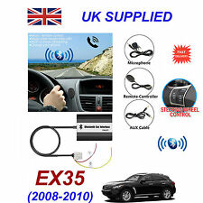 For Infinity EX35 Bluetooth Hands Free Phone AUX Input MP3 USB 1A Charger Module
