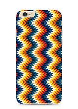 Zig Zag Mosaic Colourful Phone Case Cover