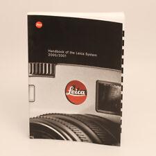 Leica Handbook of the Leica System 2000/2001