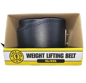 Weight Lifting Belt leather Golds Gym