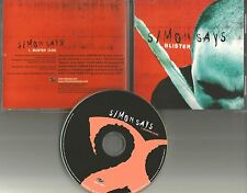 SIMON SAYS Blister ULTRA RARE 2001 USA PROMO Radio DJ CD Single MINT