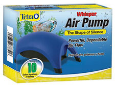 Tetra Fish Tank Whisper Aquarium Powerful Air Pump Up to 10 Gallons