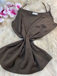 Yessica brown Camisole Top sleepwear nightwear size XL