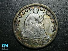 1854 P Seated Half Dime --  MAKE US AN OFFER!  #B2276