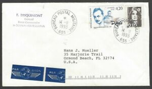 Croatia UNPROFOR United Nations Protection Force 1993 French Contigent cover