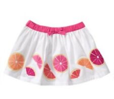 NEW GYMBOREE FRUIT PUNCH SKIRT WITH DIAPER COVER ELASTIC WAIST 12-18 MONTHS