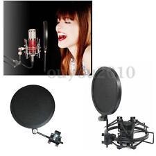 Flexible Studio Mini Microphone Mic Wind Screen Mask Gooseneck Shied Pop Filter