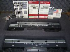 LGB 70657 NEW YORK CENTRAL 20TH CENTURY TRAIN SET WITH SOUND LN IN STORAGE TRUNK