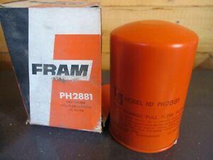 PH2881 New Fram Oil Filter Fits: Hanomag Brilliant F45 F55 F65 Porsche 911