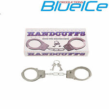 Metal Handcuffs Fancy Dress Costume Hen Stag Do Sexo Ayuda Amor puños