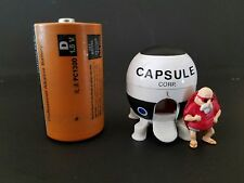 DBZ Die Cast Capsule Corp Space Ship W/ Master Roshi Figure