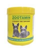 380 Tab Zootamin Multi Vitamin Healthy Skin Hair Nourish Dog Supplementary