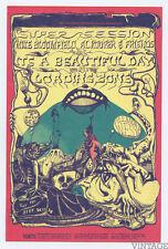 Bill Graham 138 Postcard Ad Back Al Kooper and Friends 1968 Sep 26