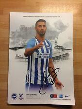 Brighton v Crystal Palace, Fa Cup 3rd Rnd 8th January 18, Signed by Beram Kayal