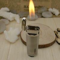 Cigar Lighter Refillable Butane Adjustable Flame Cigarette Gas Lighters 3 Colors