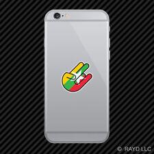 Burmese Shocker Cell Phone Sticker Mobile Burma MMR MM