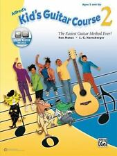 ALFRED'S KID'S GUITAR COURSE - MANUS, RON/ HARNSBERGER, L. C. - NEW PAPERBACK BO