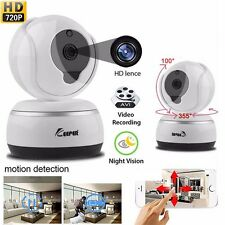 Wireless WIFI HD 720P Telecamera IP Rete domestica di sicurezza CCTV sistema di visione notturna
