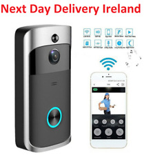 WiFi Wireless Home Doorbell Camera Smart Video Door Bell Intercom CCTV Phone APP