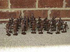 MPC African Natives Zulu Warriors Rorke's Drift 60MM Jungle Toy Soldiers
