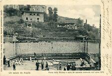 """""""AQUILA : Fonte della Riviera o delle 99 cannelle"""" 1900"""