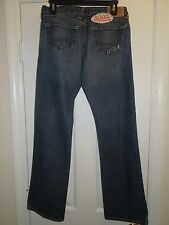 Von Dutch Distressed Flare Leg Medium Wash Women's Jeans size 30x31